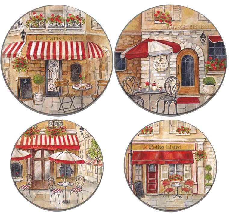 Bistro Street Cafe Round Burner Covers