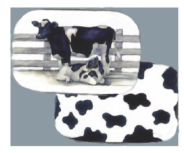 Coralled Cows 4 Placemats CLEARANCE!!