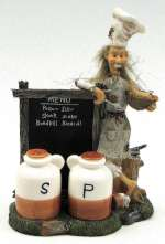 Hillbilly Chef Salt and Pepper Set