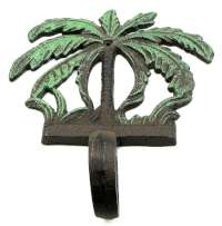 Palm Tree Hook Set of 2