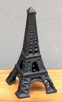 Cast Iron Eiffel Tower
