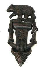Bear Cast Iron Door Knocker