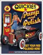 Tin Sign Quickies Pump & Polish
