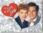 Tin Sign I Love Lucy