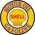 Tin Sign Shell Gas & Oil