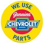 Tin Sign General Motors - We Use GM