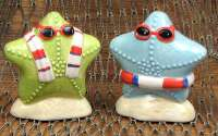 Ceramic Starfish S/P Set