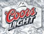 Tin Sign - Coors Light Frosted