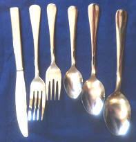 1 Dz Budget Windsor Pattern Restaurant  Flatware