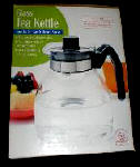 Glass Tea Kettle - Whistling Stovetop Tea Pot