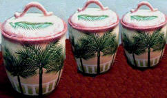 Palm Ocean Kitchen Canister Set