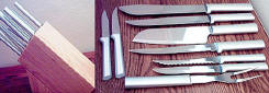 Rada R-134 Knives and Wooden Knife Block Set
