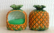 A Tropical Pineapple Soap Pump, Spoonrest/Scrubber Holder