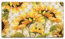 Anti Fatigue Floor Mat Yellow Sunflowers in Bloom