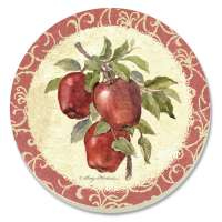 *Old Orchard Apples  Coaster Set of 8