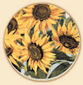 * Sunflowers  Coaster Set of 8