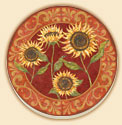 Provence Sunflower  Coaster Set of 8