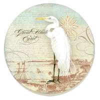 A Bird/Heron Coastal Waterways 8 Coasters