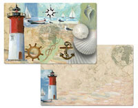 4 Racepoint Lighthouse Racepoint Lighthouse Placemats