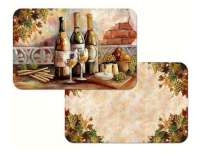 Grape Wine Theme Tuscan Pinot 4 Placemats
