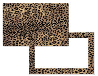A Cabin/Lodge/Wildlife Animal Skin Placemat -Jaguar