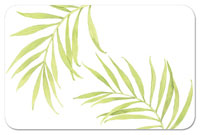 Corelle Coordinate CLEARANCE Bamboo Leaf 4 Plastic Placemats