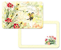 * NEW Natures Grace Flower/Bird Plastic Placemats