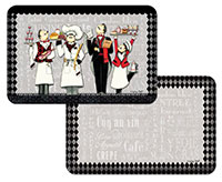 * Cafe De Paris Fr.Chef Placemats CLEARANCE