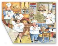 Heavy Duty -2 Flexible Cutting Placemats-Gourmet Chef