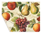 Heavy Duty -2 Flexible Cutting Placemats - Gourmet Fruit