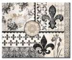 A Glass Cuttingboard Serving Trivet Cherish Fleur de Lis