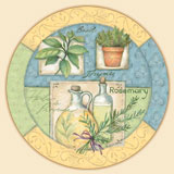 An Herbs Collage Lazysusan
