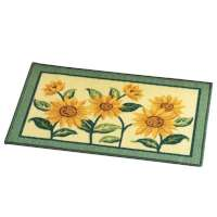 Sunflower Bloom Towel Coordinate Area Rug