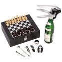 Wine Opener And Chess Set