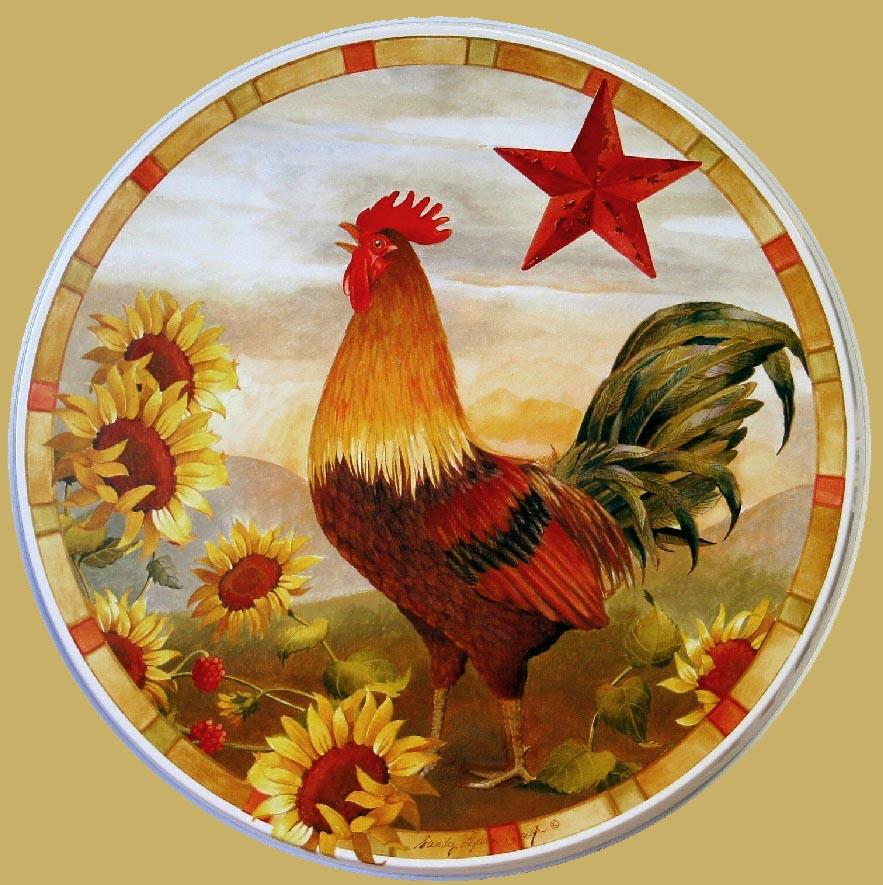 Sunflower Kitchen Decor Theme Ceramics Canister Cookie