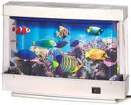 Toy Fake Fish Tank Waterless Artificial Aquarium For Sale
