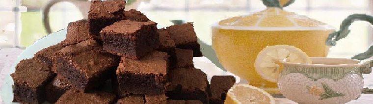 Healthy Double Dark Chocolate Fudge Brownies