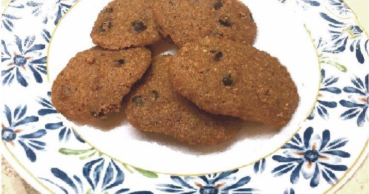2-Minute Gluten-Free Vegan Microwave Chocolate Chip Cookies