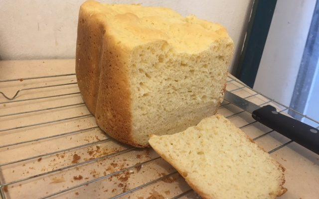 Gluten Free 2-Step Machine White Bread